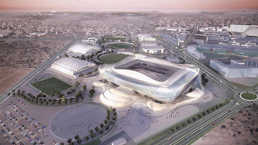Al Rayyan Stadium – Design Entwurf
