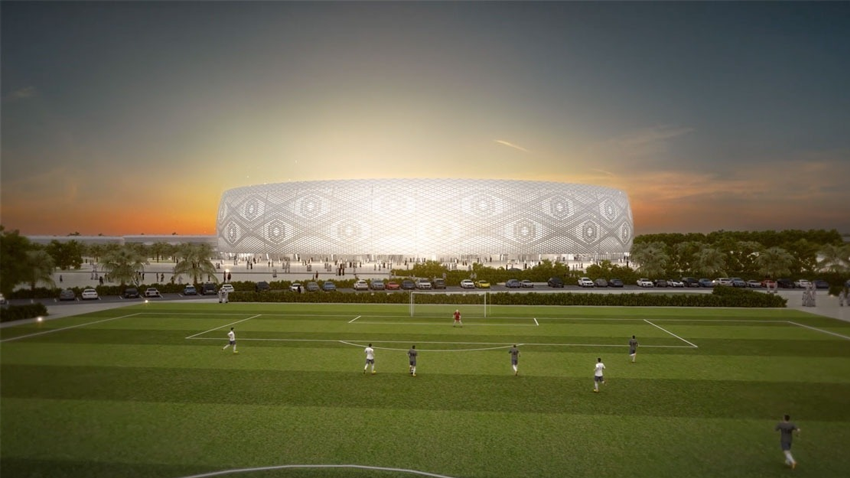 Al Thumama Stadium – Design Entwurf