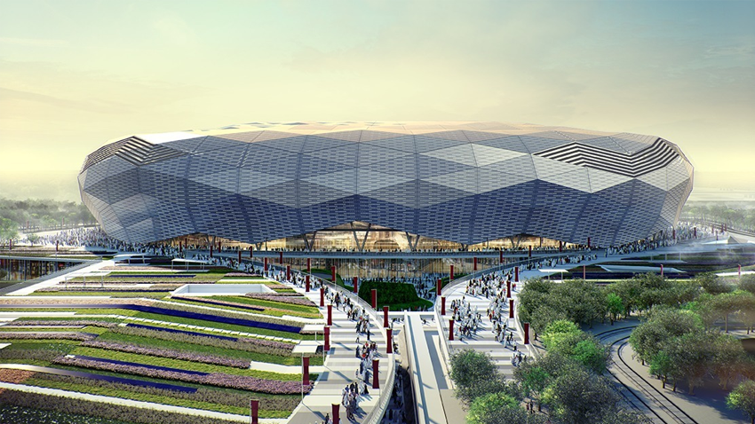 Education City Stadium – Design Entwurf