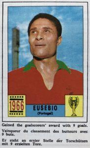 Torschützenkönig WM 1966: Eusébio