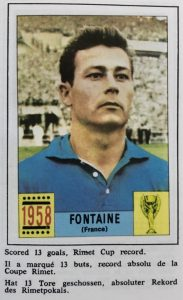 Torschützenkönig WM 1958: Just Fontaine