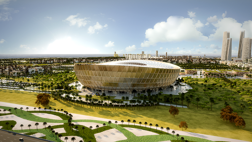 Lusail Iconic Stadium Detail