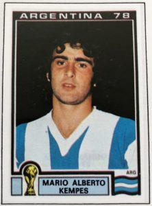 Torschützenkönig WM 1978: Mario Kempes