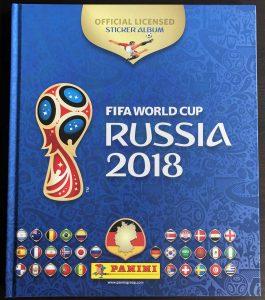 Panini Sammelalbum WM 2018 (vorne)