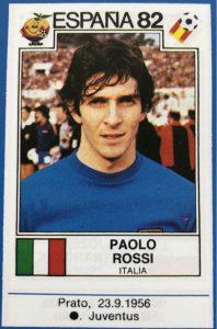 Torschützenkönig WM 1982: Paolo Rossi