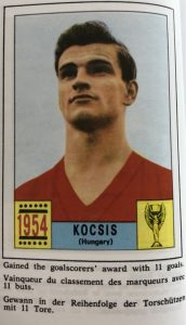 Torschützenkönig WM 1954: Sándor Kocsis