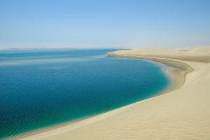 Strand bei Chaur al-Udaid