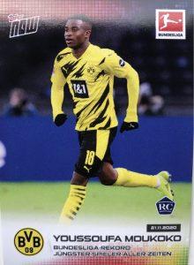 Rookie Card Youssoufa Moukoko