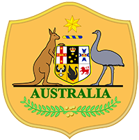 Logo der australischen Fußballnationalmannschaft