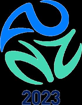Bewerbungslogo - Neuseeland und Australien für die Frauen-WM 2023