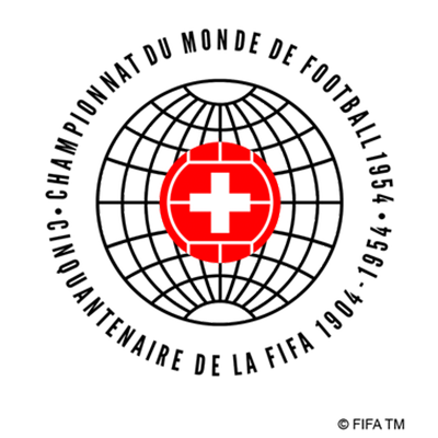 Fußball-WM Logo von 1954 (Schweiz)