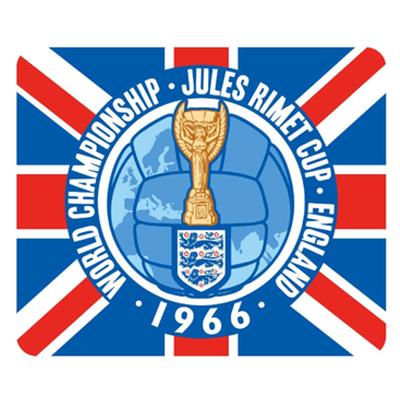 Fußball-WM Logo von 1966 (England)