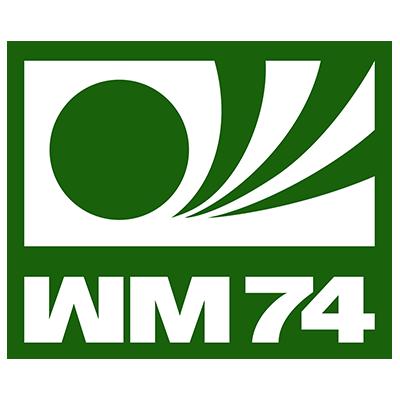 Fußball-WM Logo von 1974 (Deutschland)