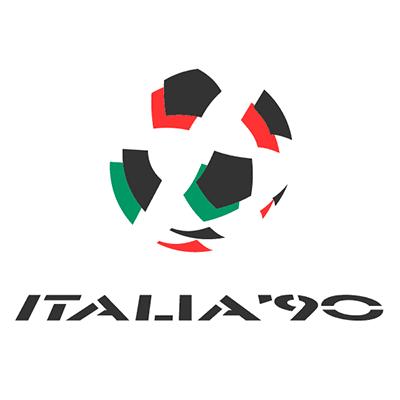 Fußball-WM Logo von 1990 (Italien)