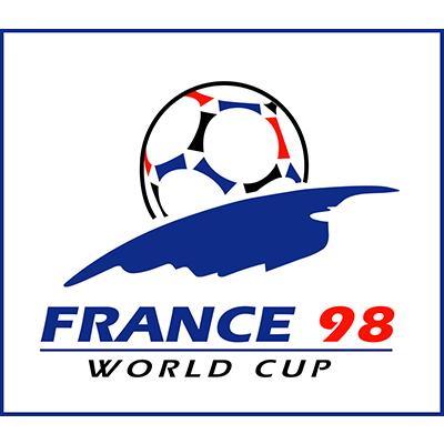 Fußball-WM Logo von 1998 (Frankreich)