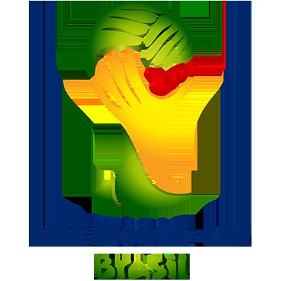 Fußball-WM Logo von 2014 (Brasilien)