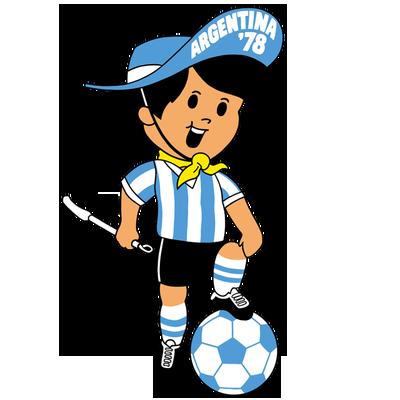 """WM-Maskottchen von 1978 """"Gauchito"""""""