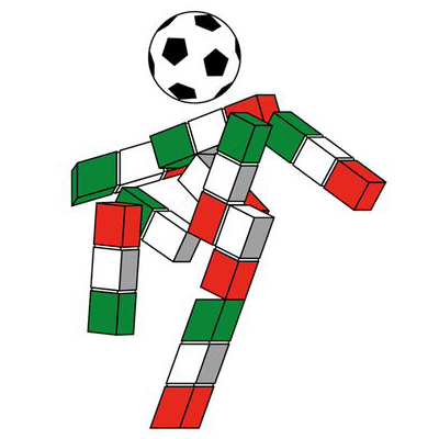 """WM-Maskottchen von 1990 """"Ciao"""""""