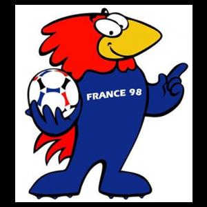 """WM-Maskottchen von 1998 """"Footix"""""""