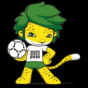"""WM-Maskottchen von 2010 """"Zakumi"""""""