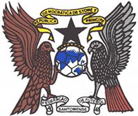 Logo der Fußballnationalmannschaft von São Tomé und Príncipe