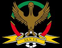 Logo der Fußballnationalmannschaft von St. Kitts und Nevis