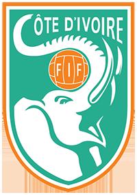 Logo der ivorischen Fußballnationalmannschaft