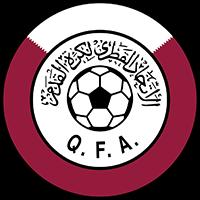 Logo der katarischen Fußballnationalmannschaft