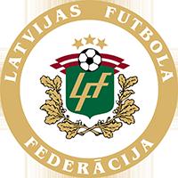 Logo der lettischen Fußballnationalmannschaft