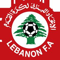 Logo der libanesischen Fußballnationalmannschaft