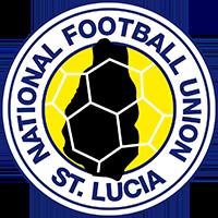 Logo der lucianischen Fußballnationalmannschaft