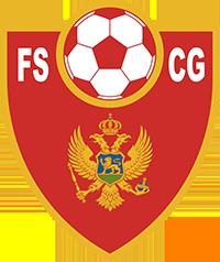 Logo der montenegrinischen Fußballnationalmannschaft