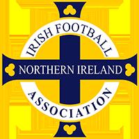 Logo der nordirischen Fußballnationalmannschaft