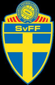 Logo der schwedischen Fußballnationalmannschaft