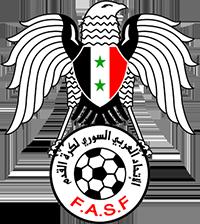 Logo der syrischen Fußballnationalmannschaft