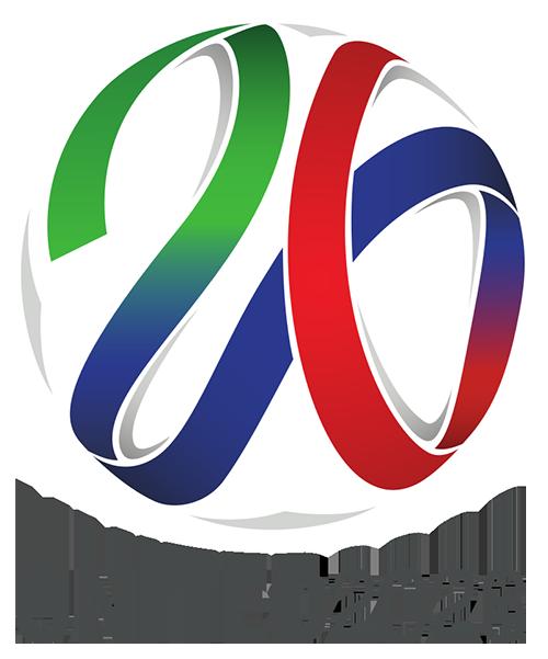"""Bewerberlogo der """"United2026"""" Mexiko, Kanada, USA zur WM 2026"""