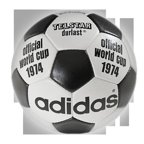 """WM Ball """"Adidas Telstar Durlast"""" von 1974"""