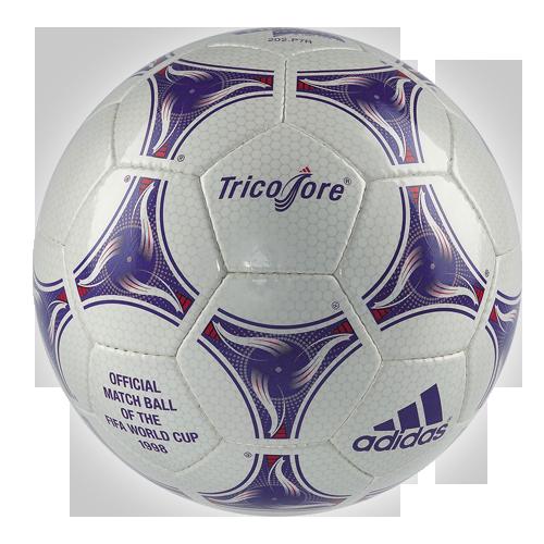 """WM Ball """"Adidas Tricolore"""" von 1998"""