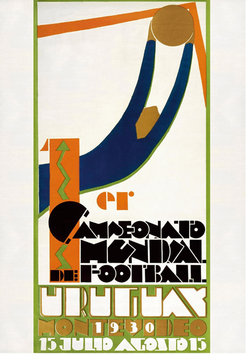 WM-Poster 1930 (Uruguay)