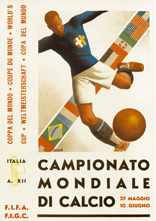 WM-Poster 1934 (Italien)