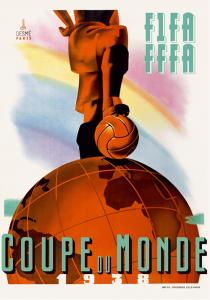 WM-Poster 1938 (Frankreich)