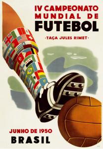 WM-Poster 1950 (Brasilien)