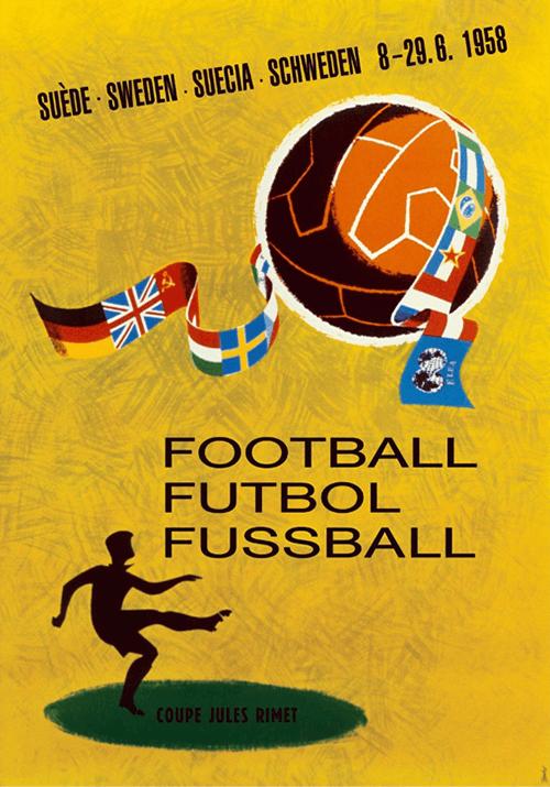 WM-Poster 1958 (Schweden)