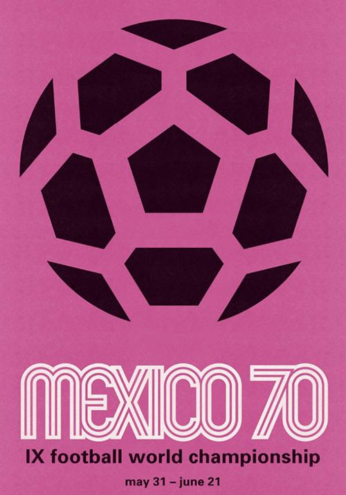WM-Poster 1970 (Mexiko)