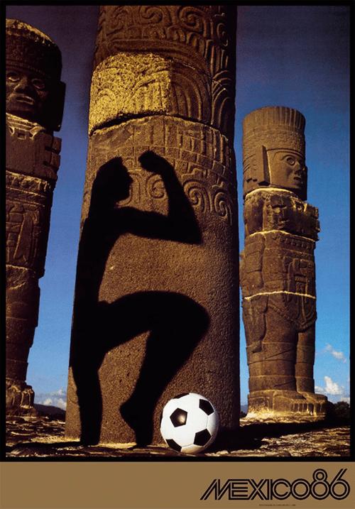 WM-Poster 1986 (Mexiko)