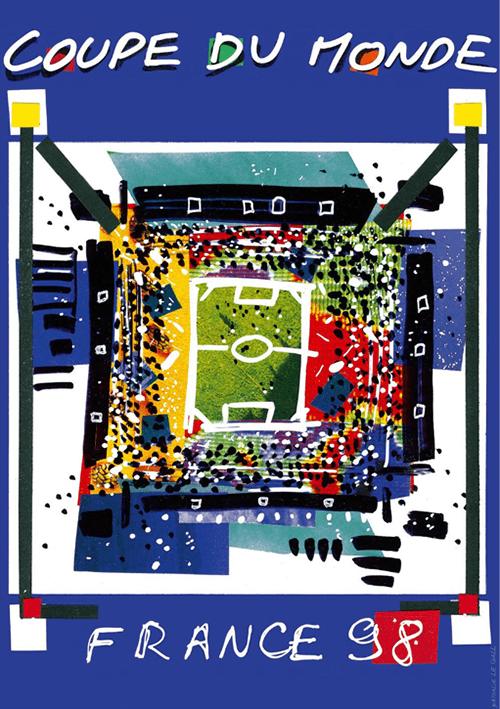 WM-Poster 1998 (Frankreich)
