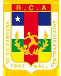 Logo der zentralafrikanischen Fußballnationalmannschaft